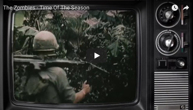 The Zombies: Time Of The Season – Vietnam Footage